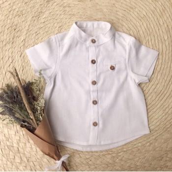 Camisa lino bebe