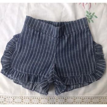 Short similares jean rayado