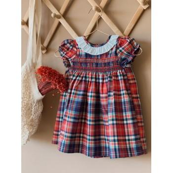 Vestido Viyela escocés
