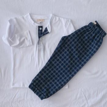 Pijama Pantalón a Cuadros
